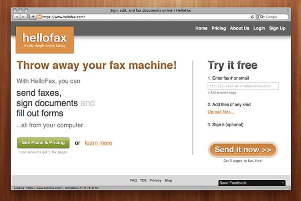 HelloFax   Uncrate