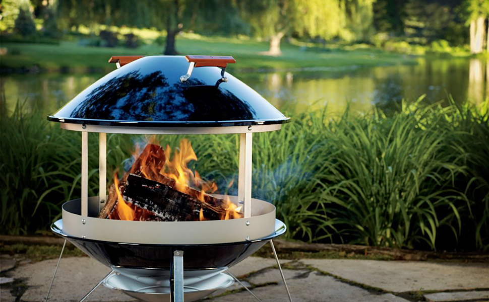 Want Weber outdoor fireplace