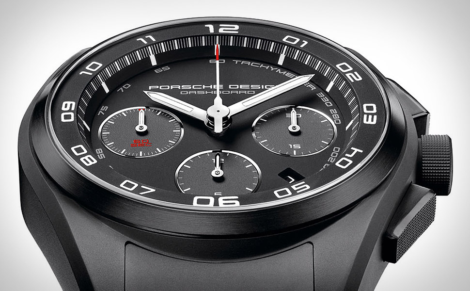 Porsche Design P'6620 Dashboard Watch  Uncrate