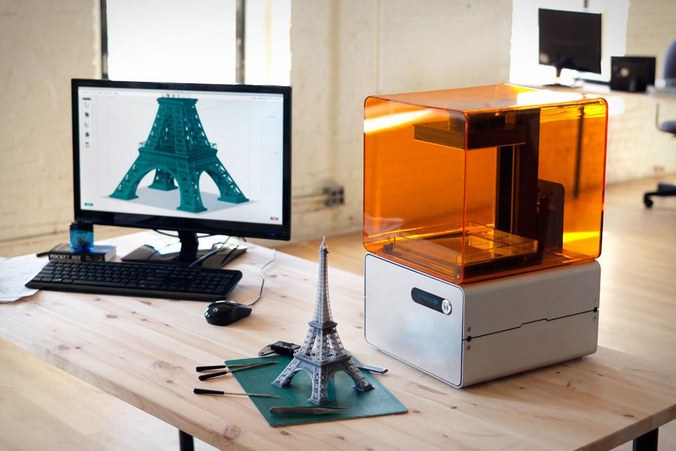 Form 1 High-Res 3D Printer