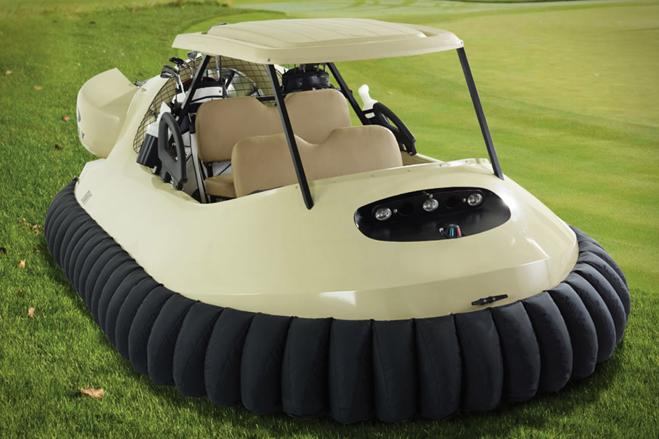 golf cart hovercraft uncrate