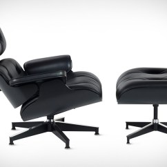 Black Chair And Ottoman Best Recliner In The World Eames Lounge Uncrate