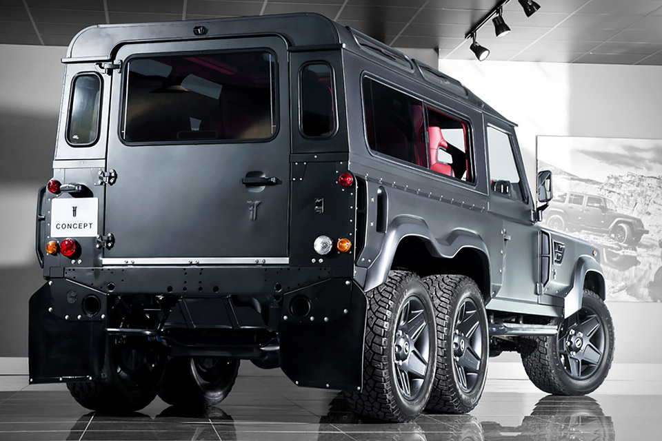 Kahn Land Rover Defender 6x6