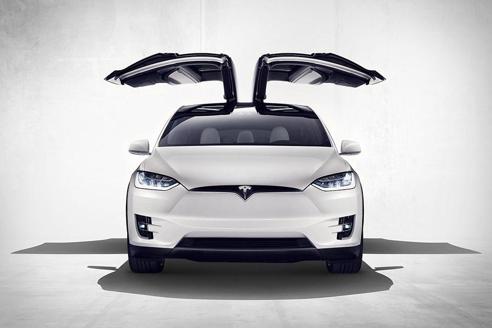 Inspiration: Tesla Model X via Uncrate