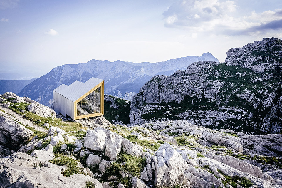 Inspiration: Skate Mountain Shelter via Uncrate