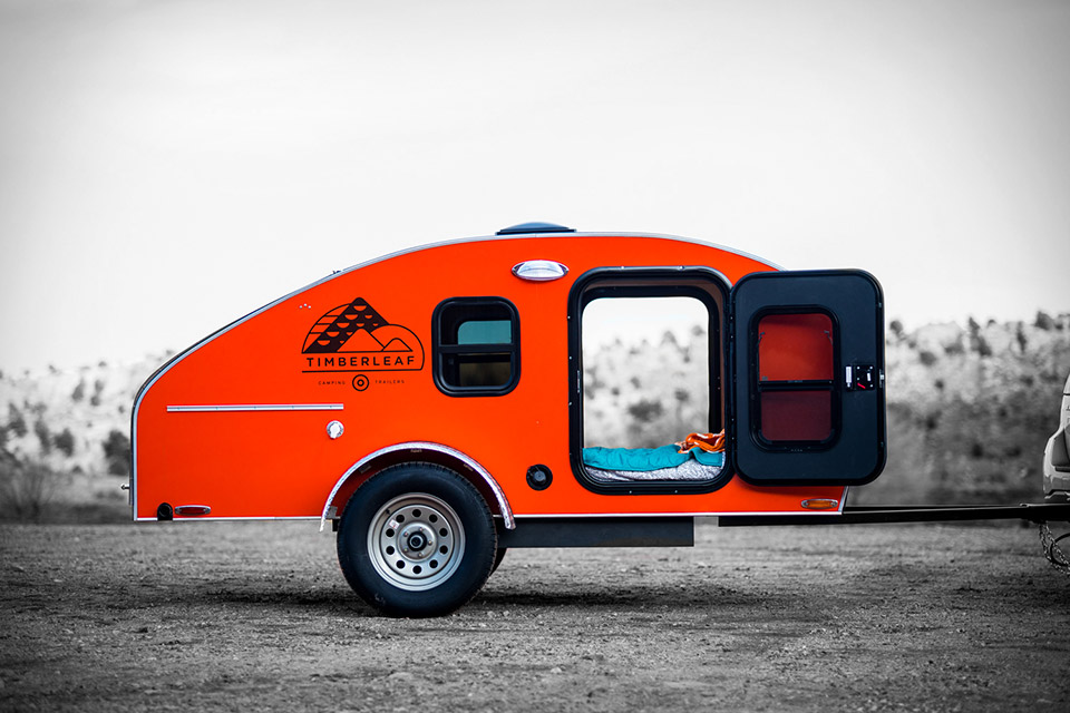 timberleaf camping trailer uncrate
