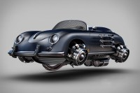 Retro Futuristic Vehicles