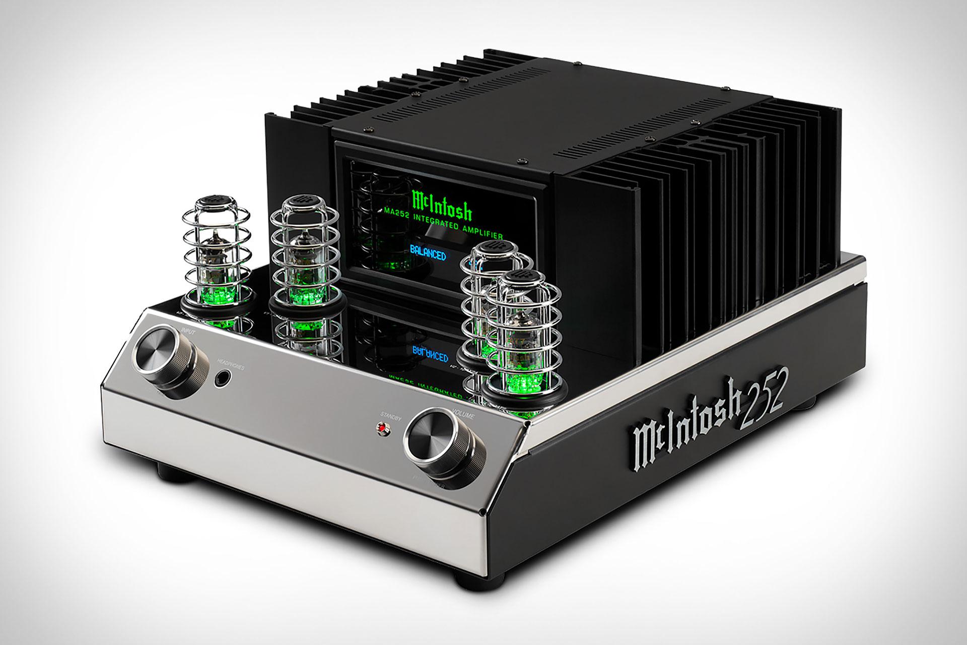 McIntosh MA252 Integrated Amplifier   Uncrate