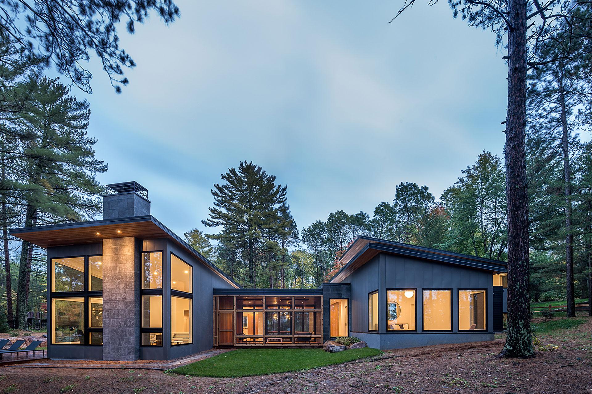 Pine Ridge Lake Home  Uncrate