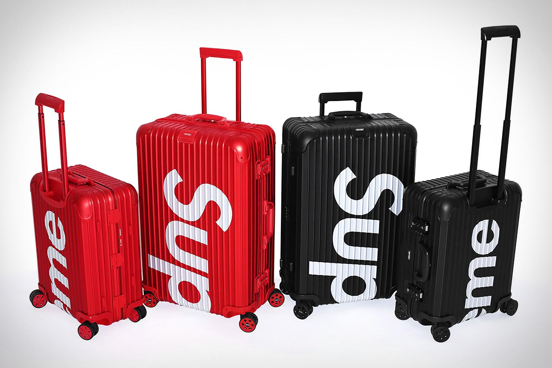 Rimowa x Supreme Topas Luggage   Uncrate