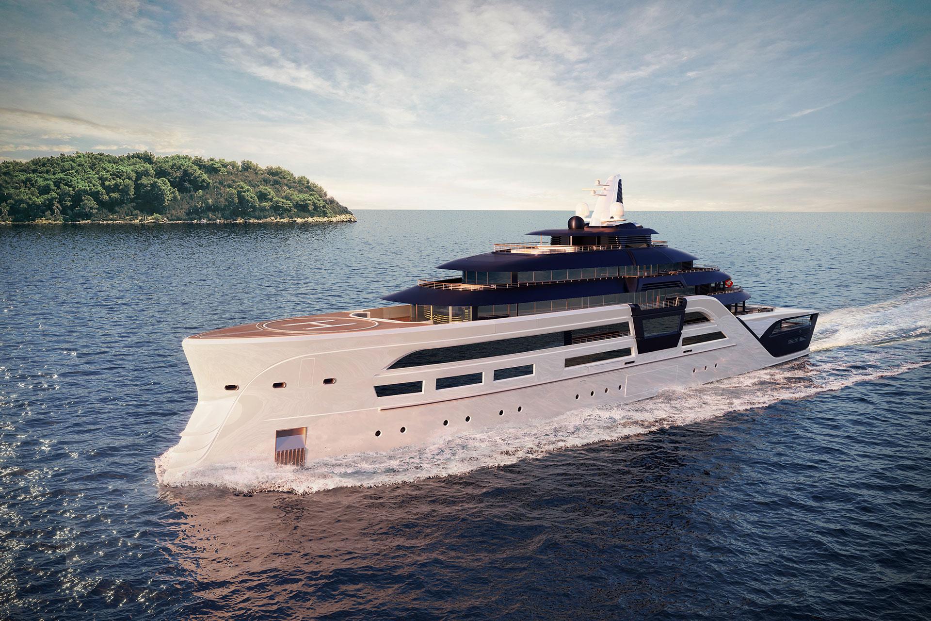 T. Fotiadis Ultra2 Yacht Concept | Uncrate