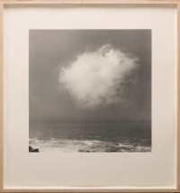 "Gerhard Richter, ""Cloud,"" 1971, offset lithograph, white card, Dallas Museum of Art, Dallas Museum of Art League Fund, Roberta Coke Camp Fund, General Acquisitions Fund, DMA/amfAR Benefit Auction Fund, and the Contemporary Art Fund: Gift of Mr. and Mrs. Vernon E. Faulconer, Mr. and Mrs. Bryant M. Hanley, Jr., Marguerite and Robert K. Hoffman, Howard E. Rachofsky, Deedie and Rusty Rose, Gayle and Paul Stoffel, and two anonymous donors, 1999.230, © Gerhard Richter, Cologne, Germany"