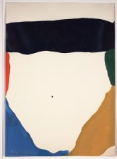 "Helen Frankenthaler, ""Possibilities,"" 1966, acrylic on paper, Dallas Museum of Art, gift of Tucker Willis, 1998.105"