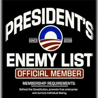 President Enemy List