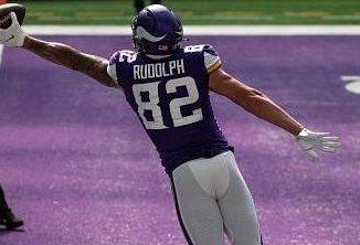 Minnesota Vikings Release Tight End Kyle Rudolph