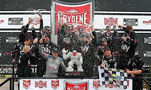 Hendrick Motorsports Dominated In Drydene 400