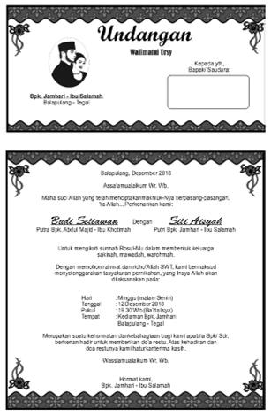 Cara Membuat Undangan Walimatul Ursy : membuat, undangan, walimatul, Hamka, Kamukke, (hamkakamukke), Profil, Pinterest
