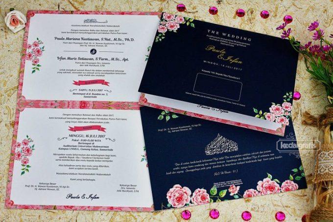 Contoh Undangan Pernikahan Muslim