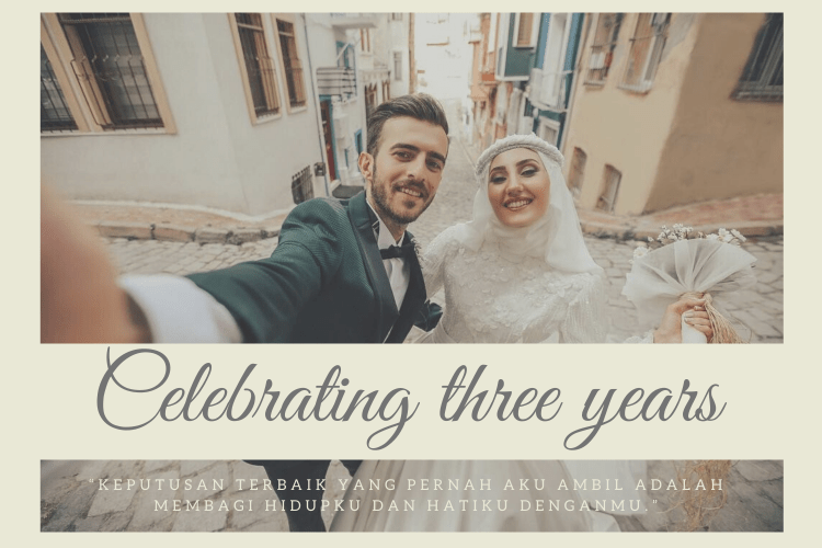 perayaan ultah pernikahan