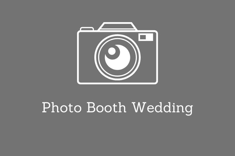 desain photo booth wedding unik