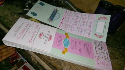 Undangan Nikah Kalender