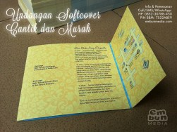 Contoh Undangan Pernikahan Murah Meriah Softcover by Embun Media