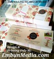 Undangan Cantik Murah Bunga Vintage Embun Media