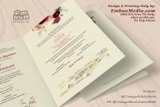 Undangan Murah Bunga Cantik 085230788450 Embun Media (1)