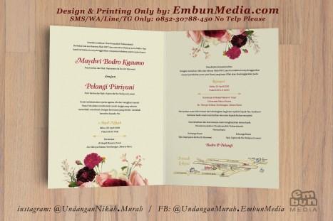 Undangan Murah Bunga Cantik 085230788450 Embun Media (6)