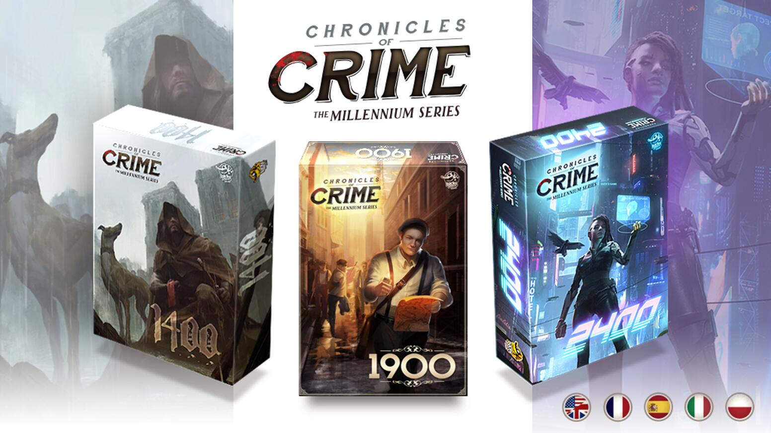 [Kickstarter]: Chronicles of crime: Millénium séries