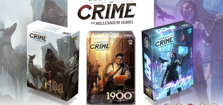 [Kickstarter]: Chronicles of crime: Millénium séries