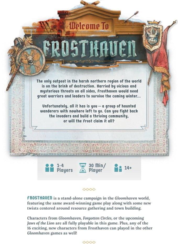 [Kickstarter] Frosthaven