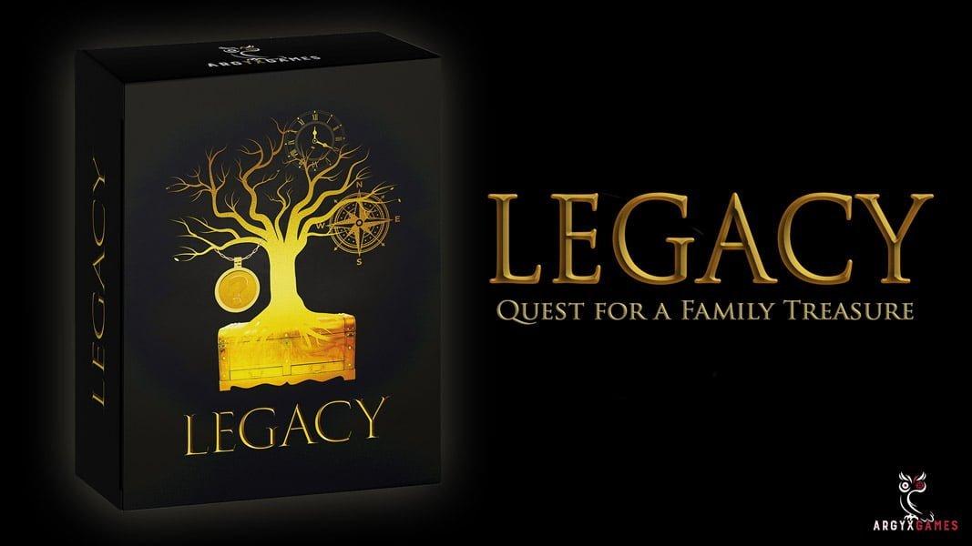 Legacy, ou la quète du trésor de famille