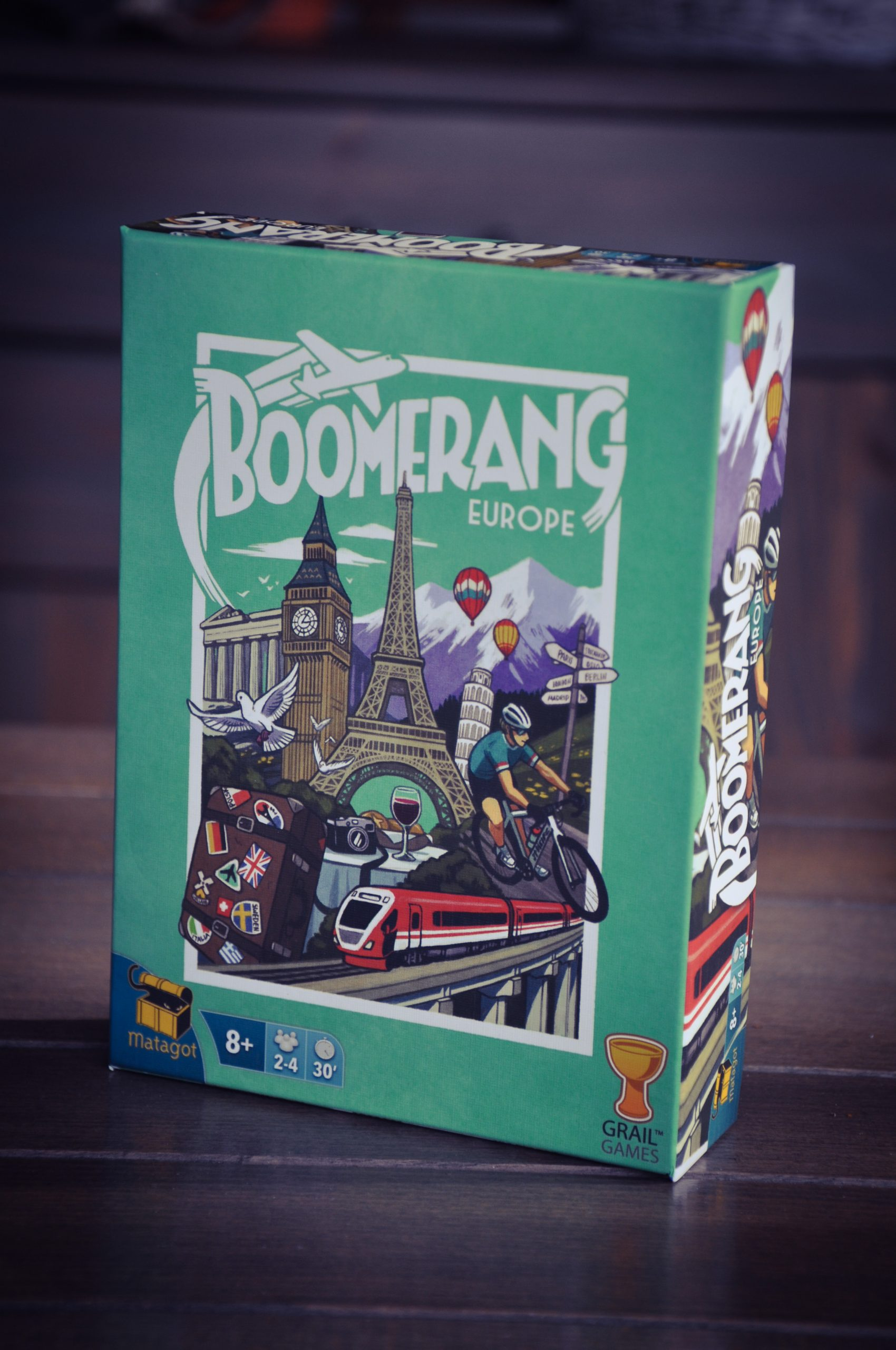[Test] Boomerang USA et Europe, du draft n' write pour touristes collectionneurs
