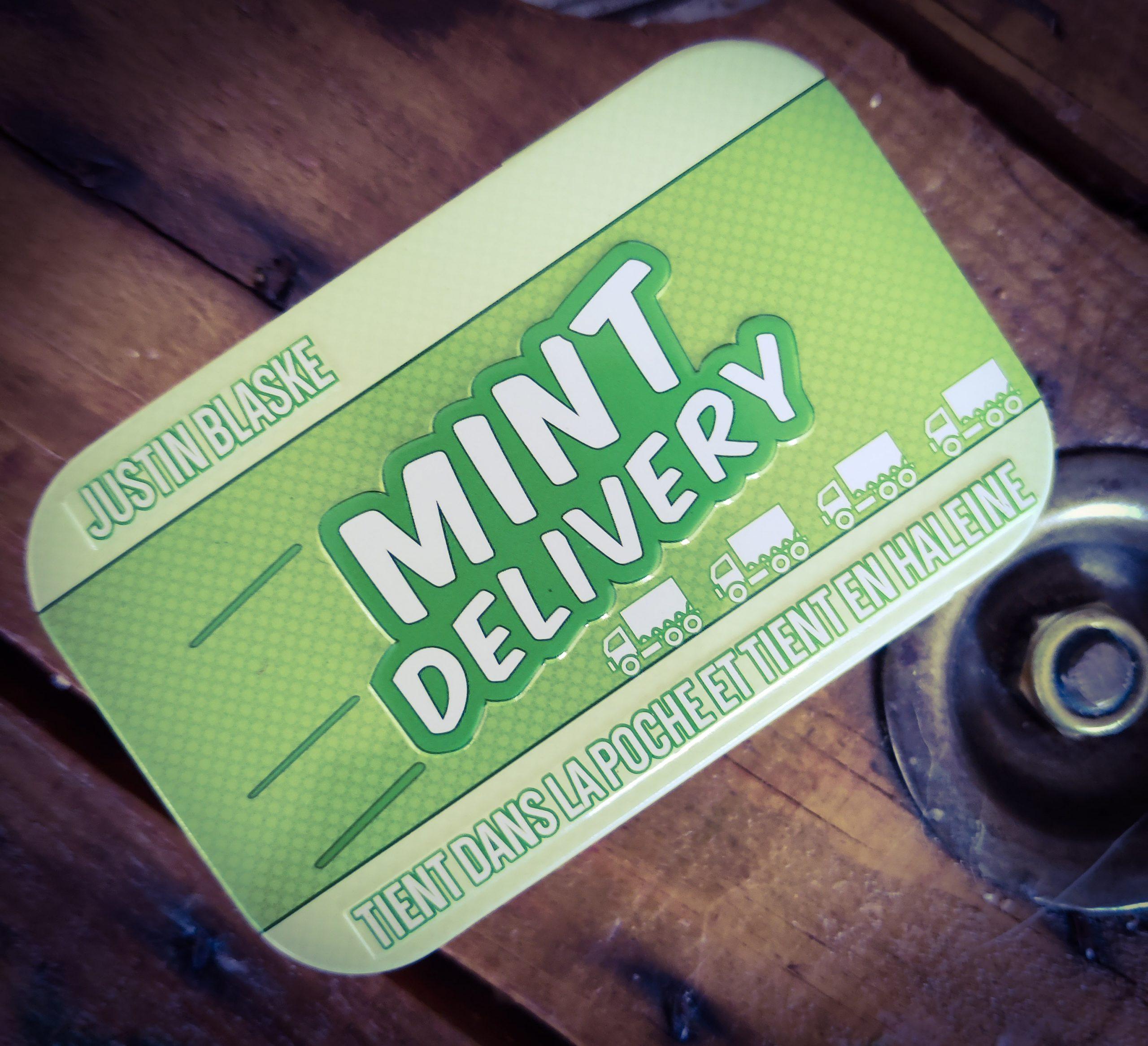 [Test] Mint Delivery, les routiers à l'haleine fraiche