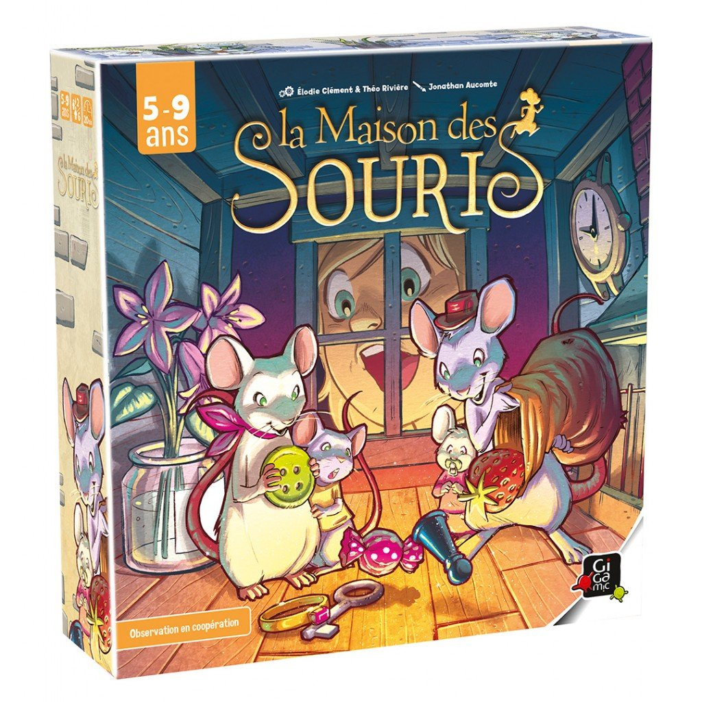 [Test] La maison des souris, Jerry and co