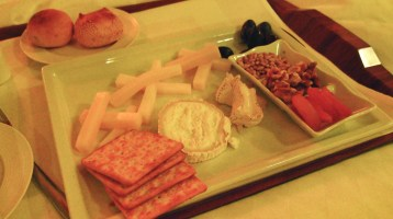 Cheeses meditate well! — Cheese Platter, Nikko Hotel Saigon, Vietnam; Image Courtesy and Copyright AainaA-Ridtz A R