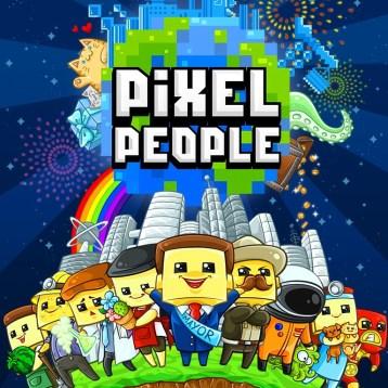 PixelPeople Splashpage