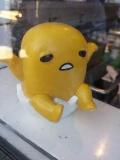 A bad yolk: laugh, it's funny.