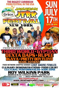Grace Jamaican Jerk Festival 2016 - Sunday July 17th 2016