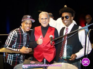 Undefinable Vision - Winner of Best Music Program Tabou TMF aka Undefinable One with DJ Cool Clyde & Orlando Marin aka The Last Mambo King at the 2014 BETA Awards