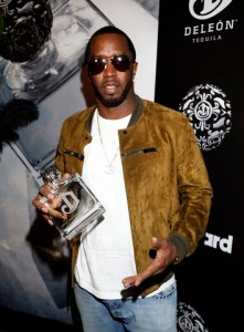 Sean 'Diddy' Combs at DeLeón Tequila Relaunch