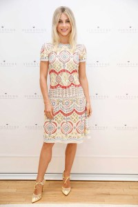 Julianne Hough kicks off Hallmark Signature's pop-up shop in SoHo during New York Fashion Week