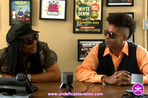 Maxi Priest talks with Tabou TMF on Undefinable Vision
