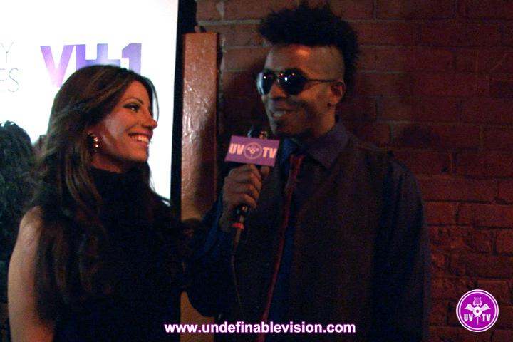 Elizabeth Vashisht and Tabou TMF at VH1 Premiere