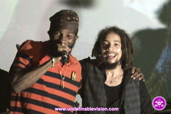 Spragga Benz and Jo Mersa Marley at SOB's