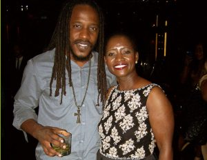 Wayne Marshall & Ms. Ecton @ Chibase Productions VIP Launch Party @ Stone Rose