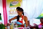 Miss Jamaica World 2015 Sanneta Myrie at The Grace Jamaican Jerk Festival New York - Undefinable Vision