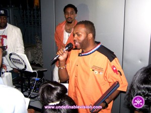 Undefinable Vision | Chef Juvon giving thanks at The Second Annual Food for Thought Kidney Awareness Gala in NYC