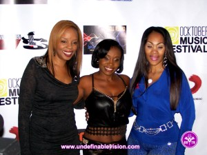 Rah Digga, Lil Nat & The Original Spinderella at The 6th Annual Ocktoberfest Music & Film Festival in NYC @ Stage 48 NYC Quality Red Carpet Media Coverage Supporting Passionately Pink For The Cure   www.undefinablevision.com   info@u